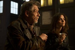 John Hurt (War Doctor) & Clara (Jenna Louise Coleman)