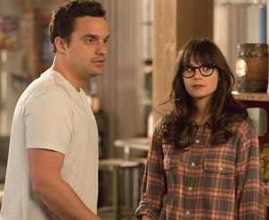 Nick (Jake Johnson) &  Jess (Zooey Deschanel)