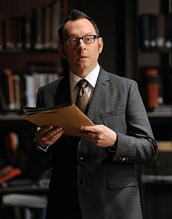 "Harrold Finch (Michael Emerson), le ""papa"" de la Machine"