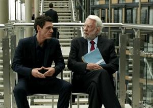 Marc Lavoine & Donald Sutherland