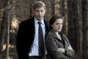 Al Parker (David Wenham) et Robin Grifith (Elisabeth Moss)
