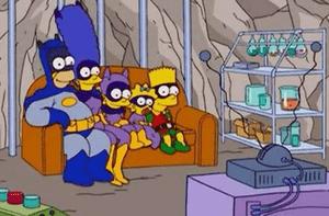 un Super gag du canapé (en direct de la Bat-Cave)