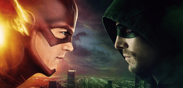 Flash VS. Arrow (c) the CW